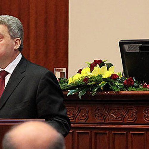 eancë e parë e Komisionit për impiçmentin e presidentit Ivanov