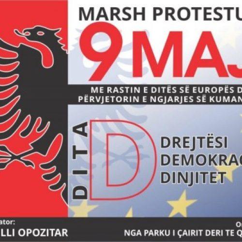 Këshilli Opozitar: Më 9 Maj protestohet vetëm shqip dhe vetëm me flamur shqiptar!