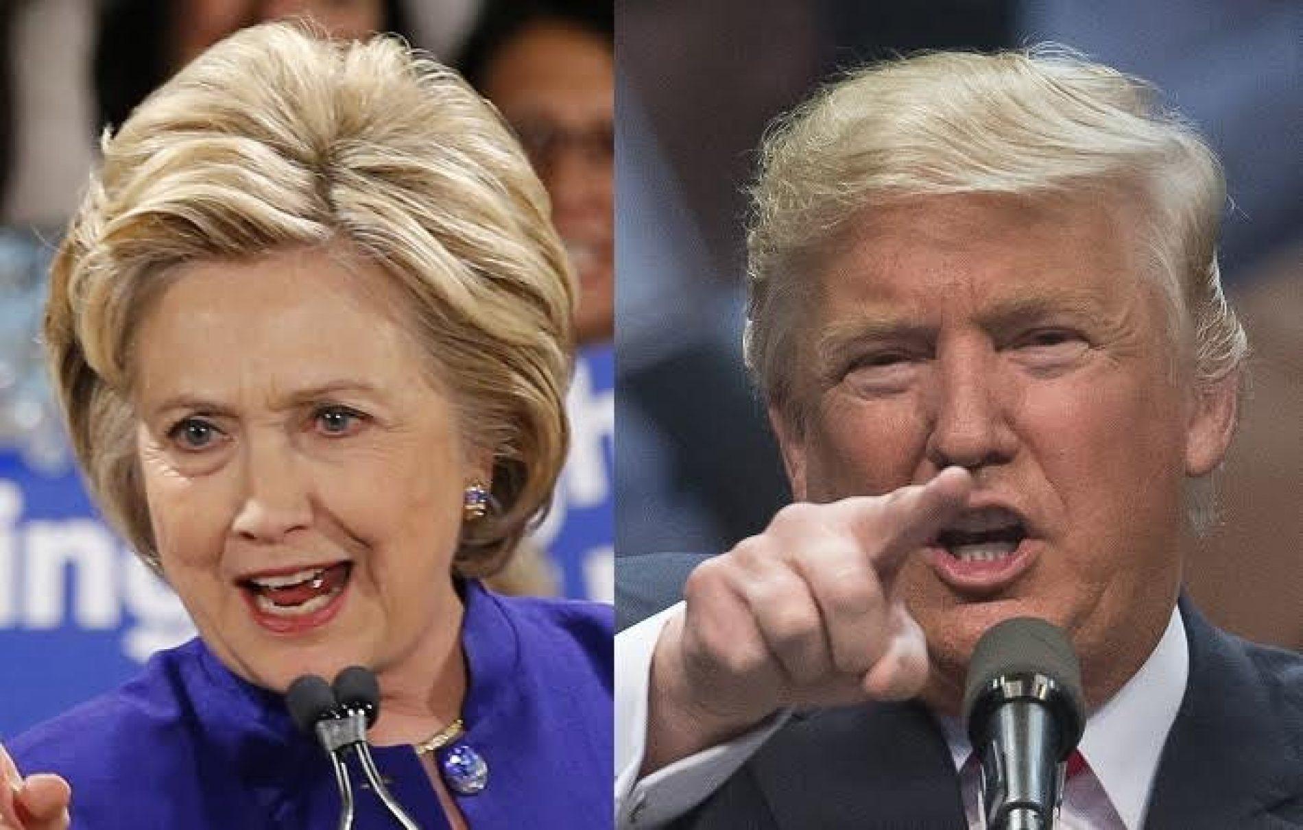 Clinton, Trump fitues në Nju York
