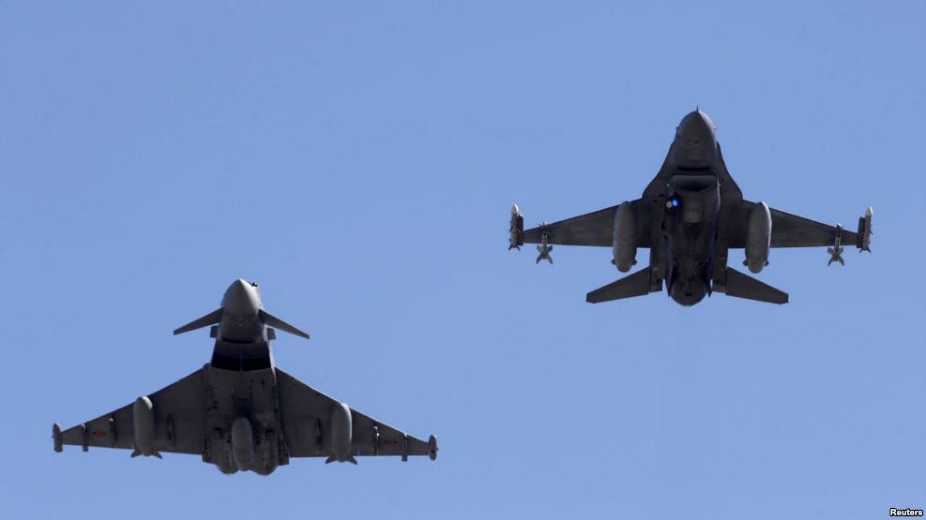 Një avion rus dhe një amerikan shmangin përplasjen mbi Siri