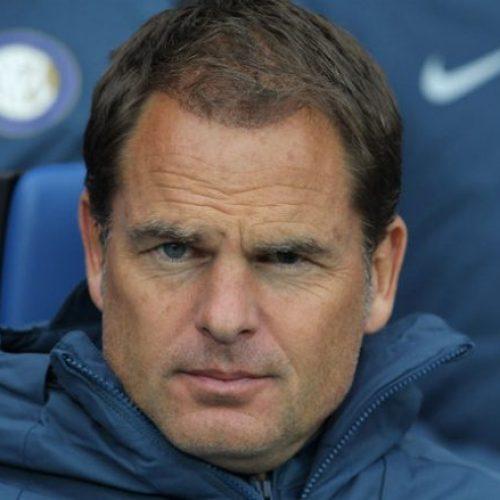 Zyrtare: Interi shkarkon Frank De Boerin