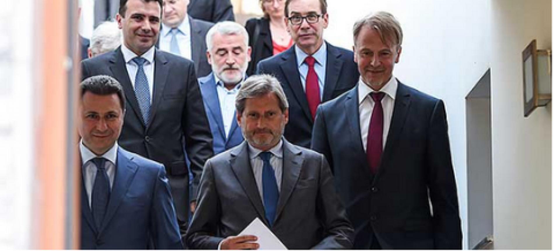 Kriza në Maqedoni, anulohet takimi i Vjenës