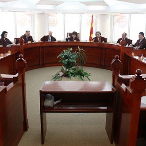 Gjykatësit kushtetues të Maqedonisë po zgjedhin kryetar të ri