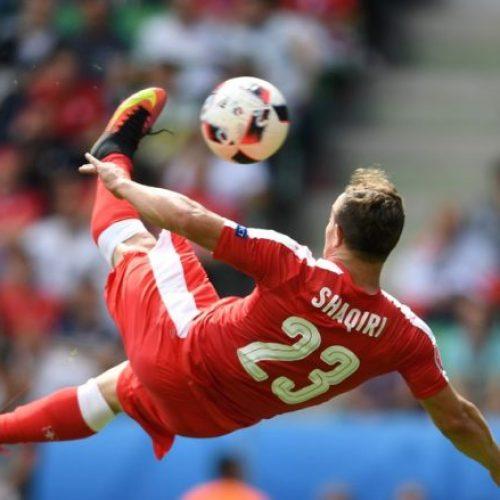 Shaqiri shënon golin e karrierës, padyshim më i miri në Euro 2016 (Video)