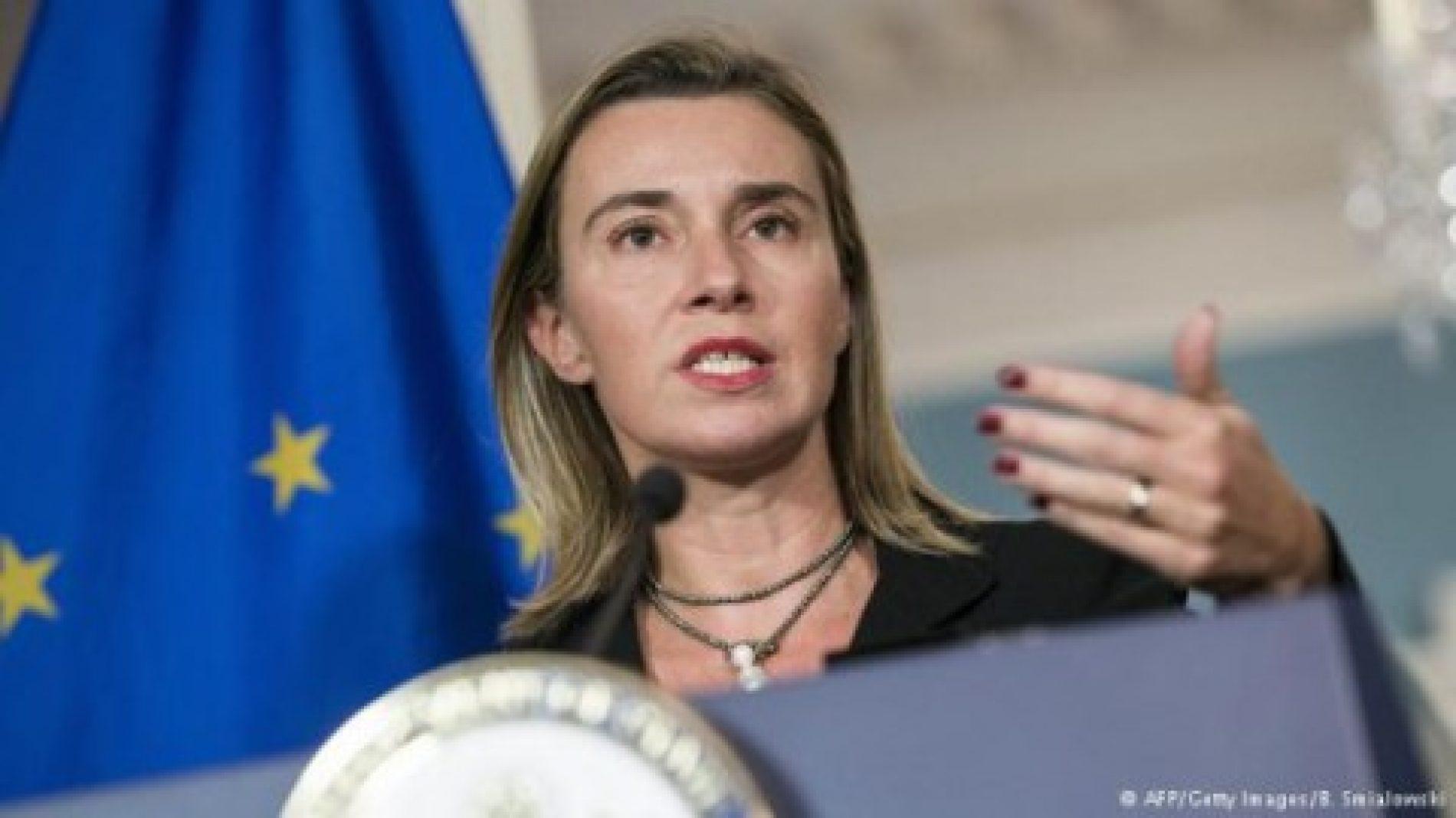 Mogerini: Marrëveshja e Përzhinos dhe zgjedhjet kredibile janë me rëndësi kyçe