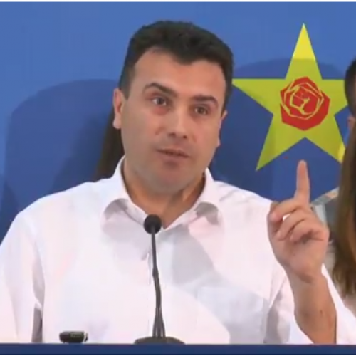 Zaev fton për front të përbashkët: Ose ne ose Gruevski!