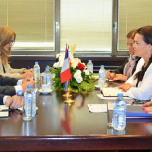 Takim i Tashevska-Remenski me ambasadorin e Francës Timonie