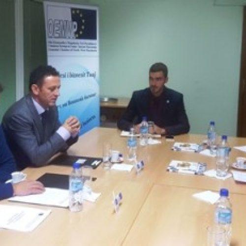 OEMVP në takim me Zëvendësministrin plotësues të Financave Kire Naumov