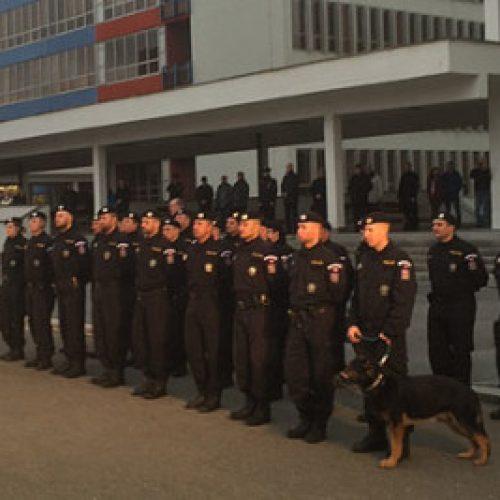 Kontigjent i ri i policisë çeke në kufirin e Maqedonisë