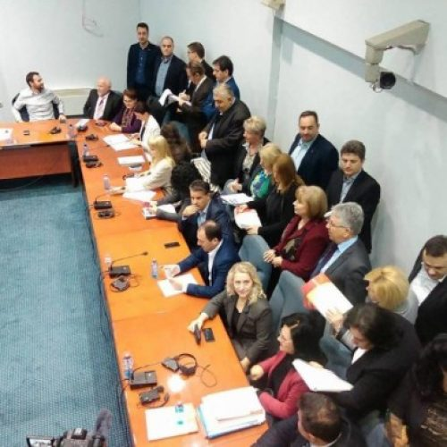 Vazhdon seanca e Komisionit Kuvendor për raportin e Janevës