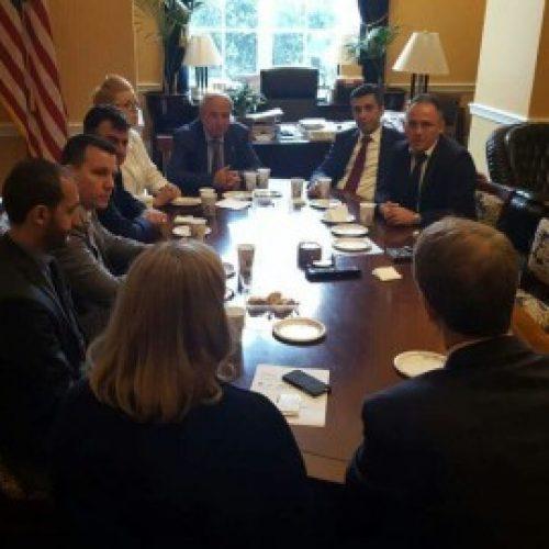 Reisul Ulema viziton Dhomën e Përfaqësuesve dhe Kongresin Amerikan