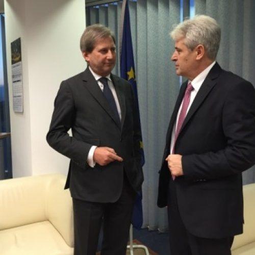 Ahmeti: Zgjedhjet janë fillimi i zgjidhjes së krizës