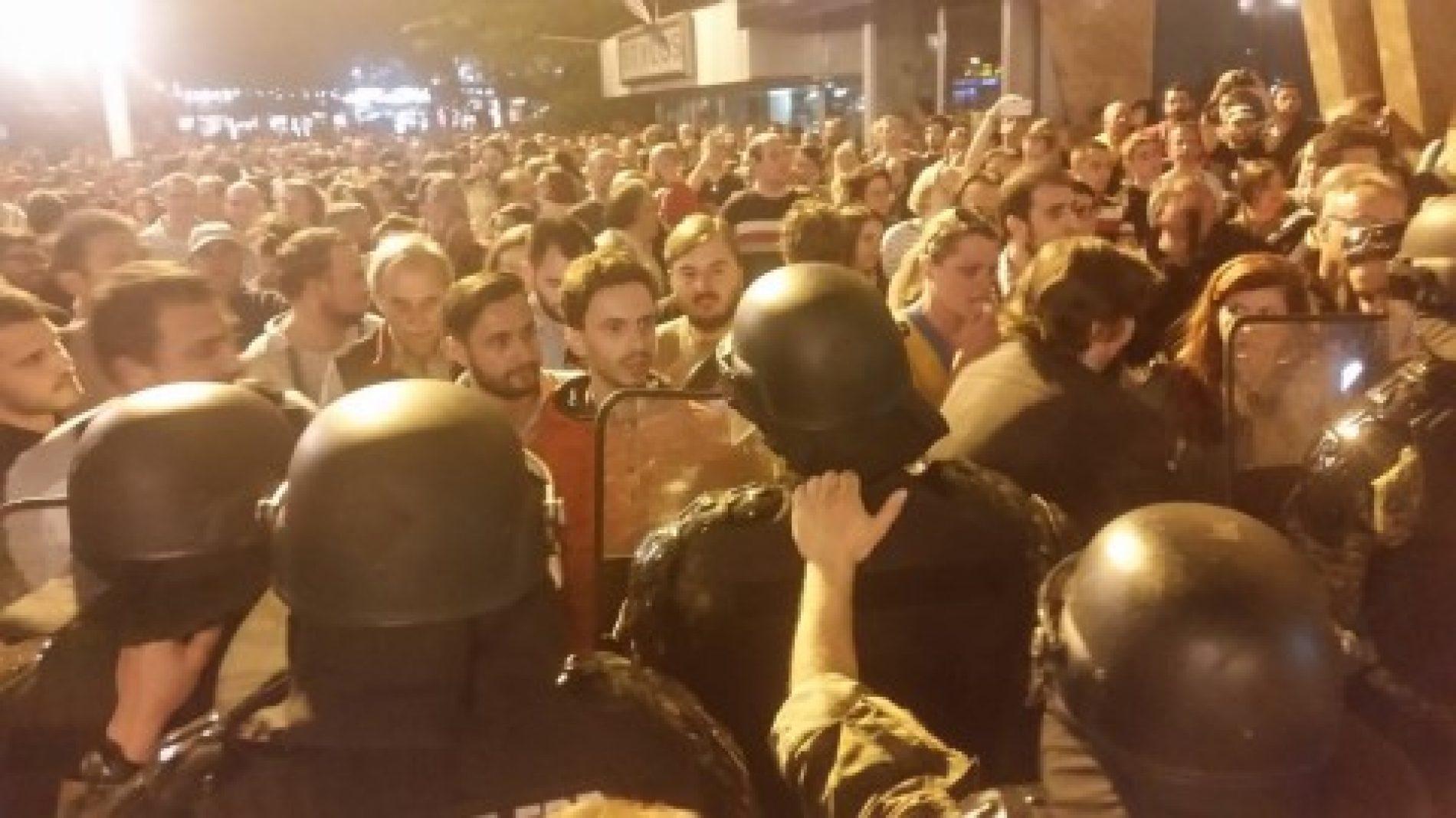 Vazhdon edhe sot protesta kundër vendimit të Ivanov