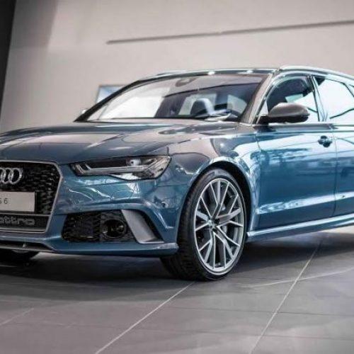 Një Audi e veçantë: RS6 me ngjyrë të kaltër – brenda dhe jashtë (Video)