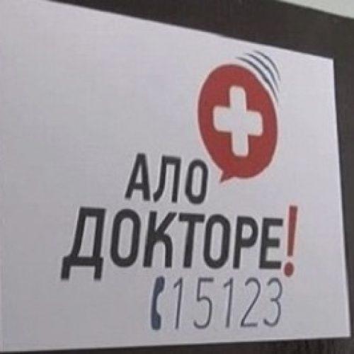 """Në """"Alo mjek"""" javën e kaluar ka pasur 1.420 thirrje"""