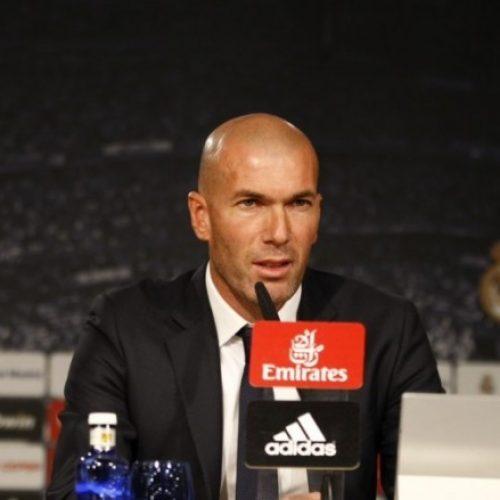 Zidane jep një deklaratë bombastike