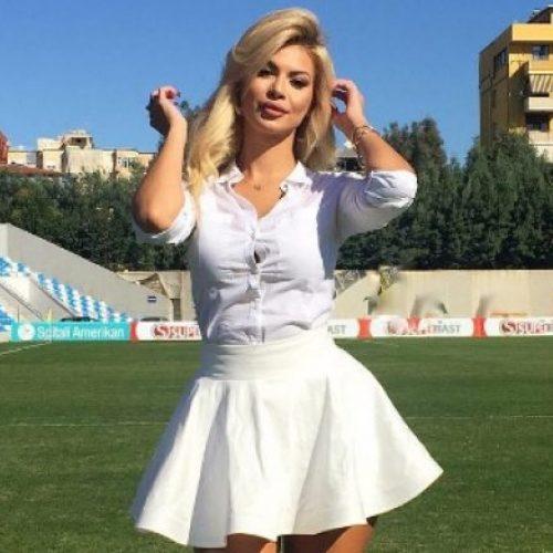 Luana Vjollca lajmërohet nga stadiumi, paralajmëron diçka të re (Foto)