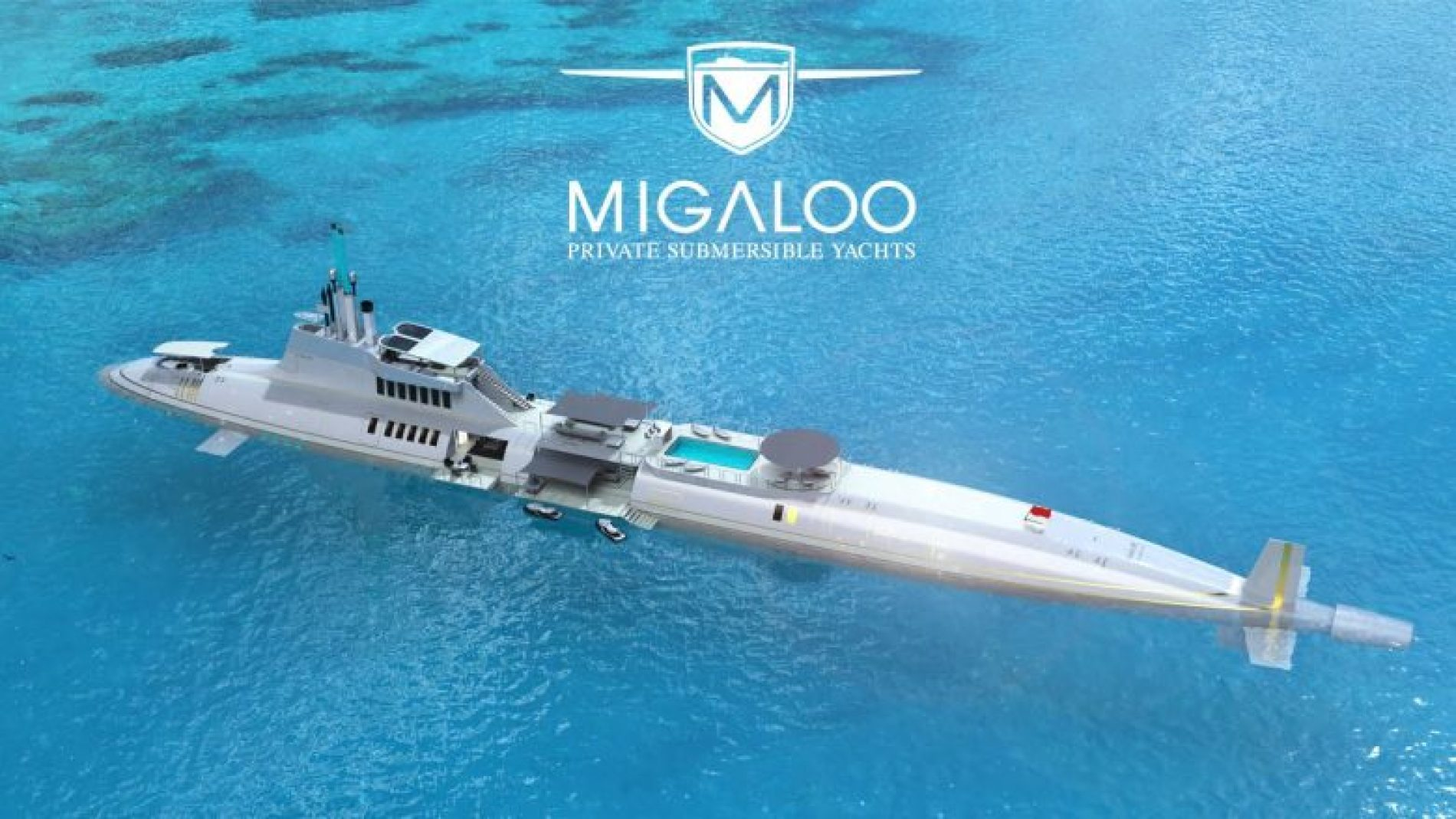 Njihuni me super jahtin luksoz që shndërrohet në nëndetëse