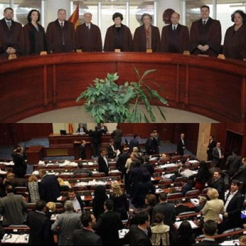 Gjykata Kushtetuese stopon veprimet për zgjedhjet më 5 qershor