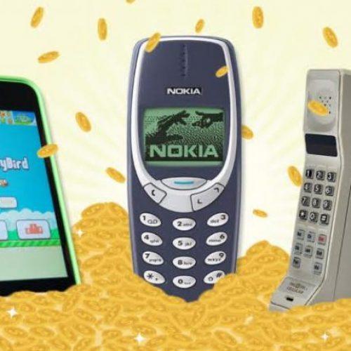 Nga këta telefona të vjetër, mund të përfitoni mjaftë para (Foto)
