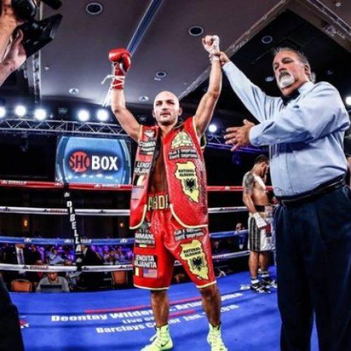 Dardan Zenunaj i stuhishëm, mund boksierin meksikan