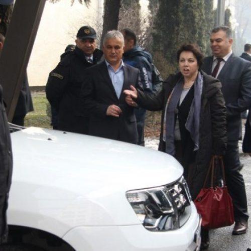 MPB-ja e Maqedonisë mori 4 vetura donacion nga Gjermania