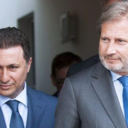 Gruevski I ka ofruar Hanit dy propozime për zgjidhje të krizës politike