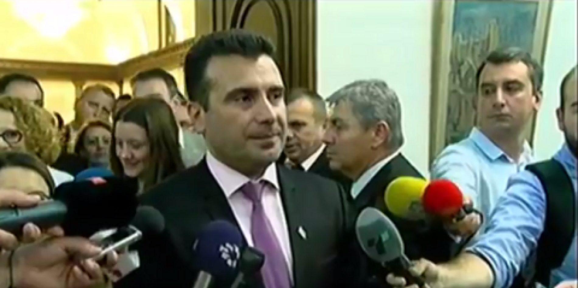 Deklarata e parë e Zoran Zaevit si kryeministër i Maqedonisë (FOTO)