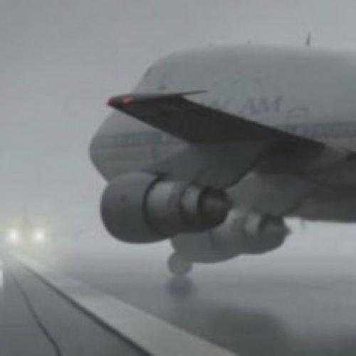 Moti me mjegull në Maqedoni, anulohen disa fluturime