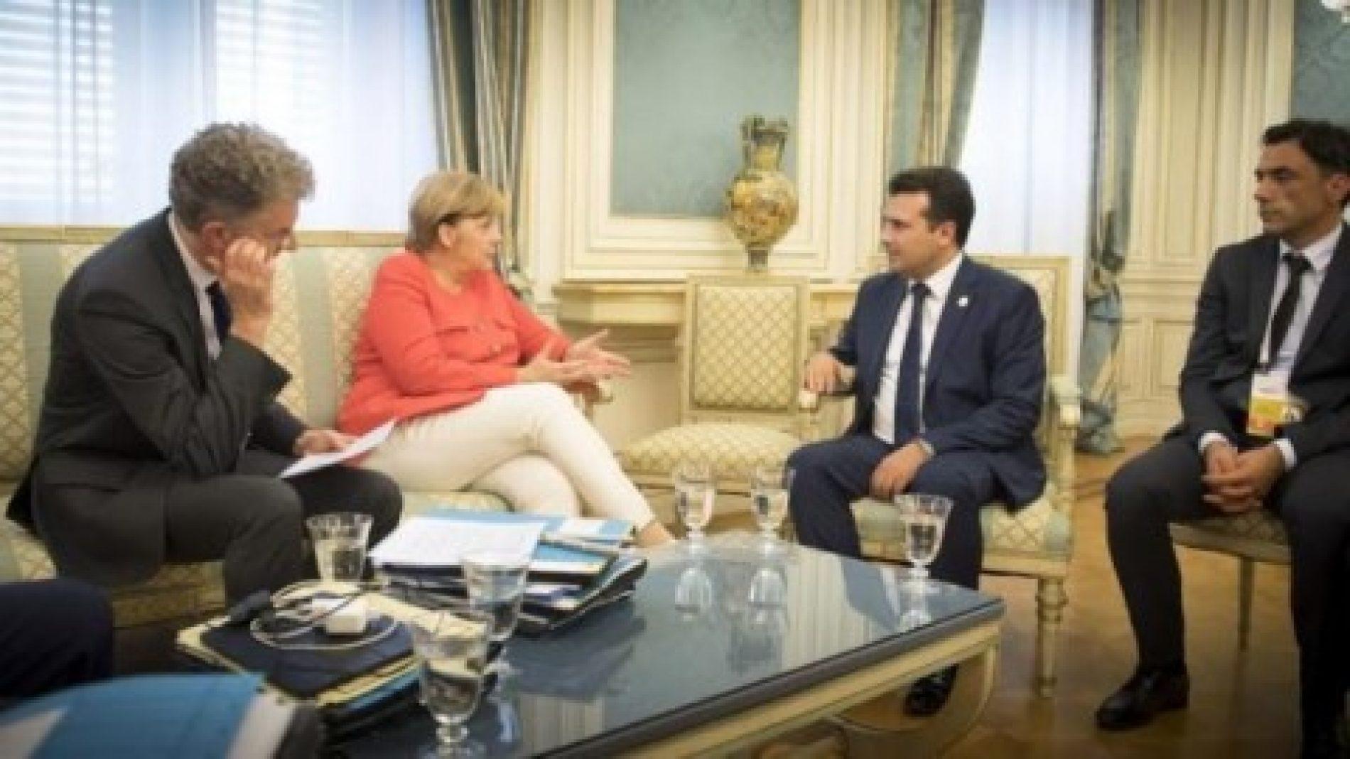 Berlin, Zaev sot takohet me kancelaren gjermane Merkel