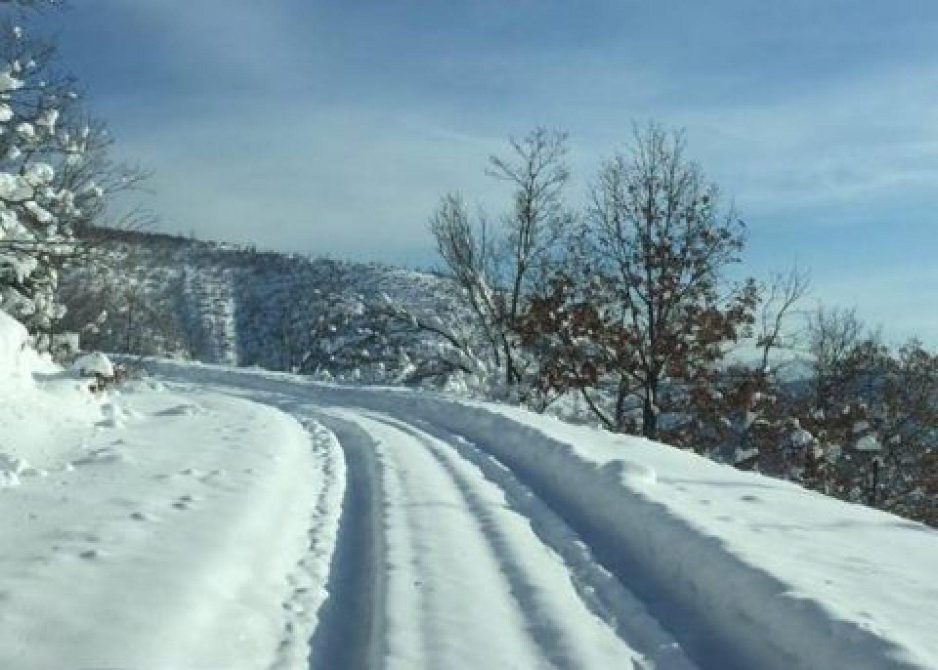 Fshatrat Malinjë dhe Brezë janë bllokuar për shkak borës