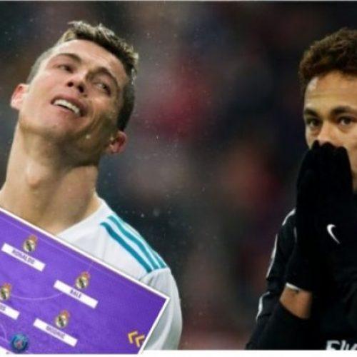 Nëse Real Madrid dhe PSG do të kishin një skuadër të përbashkët, formacioni do të ishte i jashtëzakonshëm (Foto)