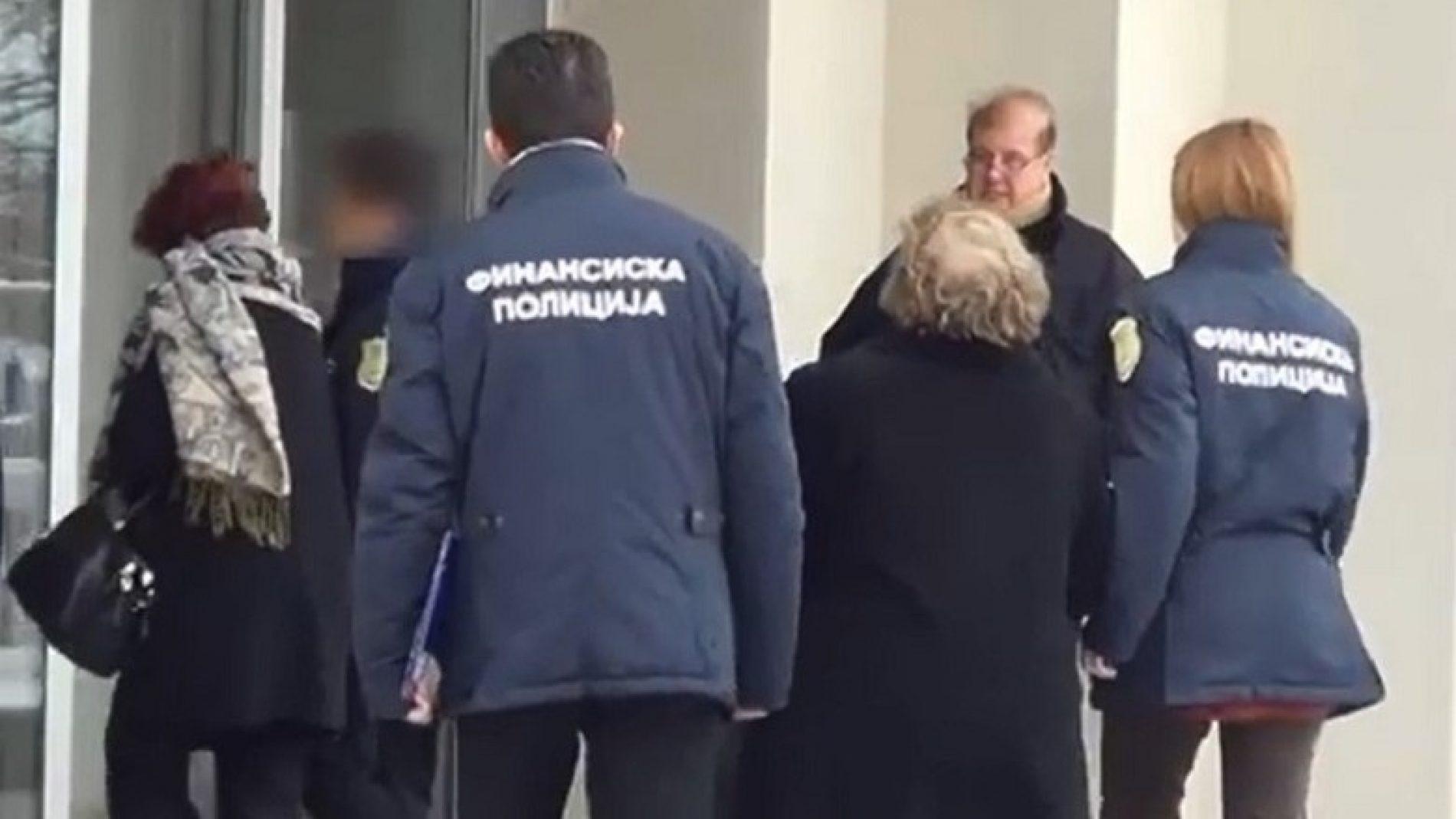 Policia financiare kontrollon Komisionin për Antikorrupsion të Maqedonisë