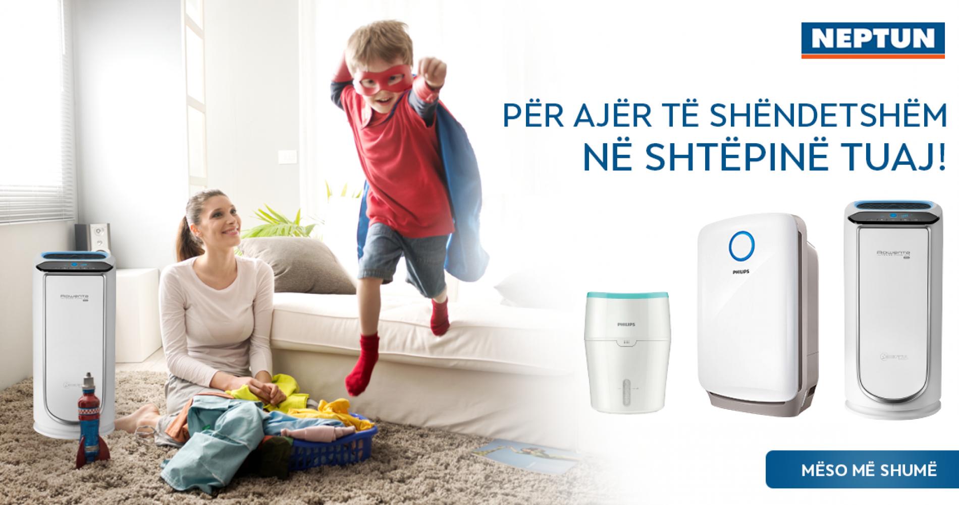 Për ajër të shëndetshëm, në shtëpinë tuaj