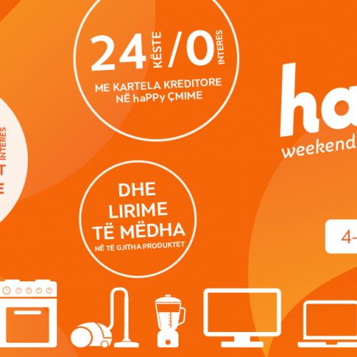 HAPPY WEEKEND aksion në NEPTUN – Lirime të mëdha dhe deri në 48 këste pa interes në të gjitha produktet!