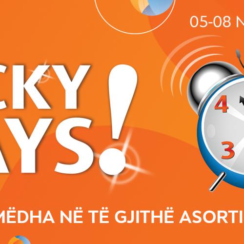 Lucky days në Neptun prej 05-08 Nentor – lirimet më të mëdha në të gjithë asortimanin!